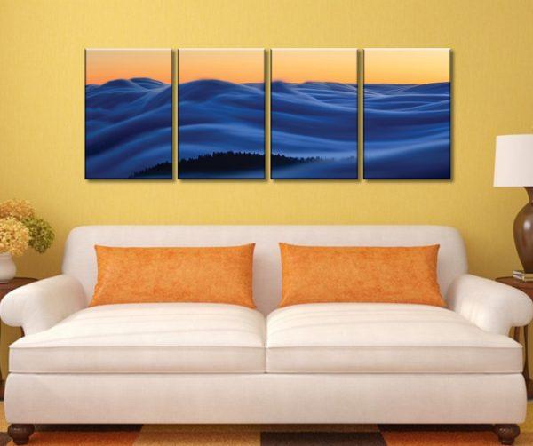 Dreamscape - Ian Plant 4 Panel Canvas Print Set