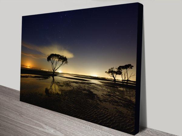 Moonrise Buy Framed Canvas Art Online