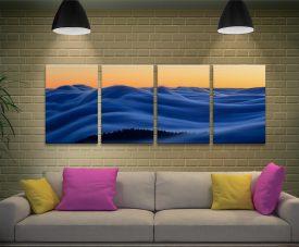 Dreamscape Ian Plant 4 Panel Canvas Print Set