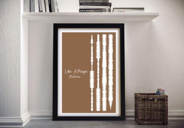 Like A Prayer By Madonna - Soundwaves Art