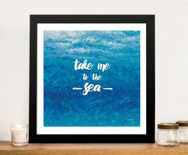 Underwater Quotes l - James Wiens Canvas Art