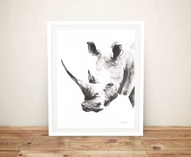 Rhino Grey - Aimee Del Valle Canvas Prints