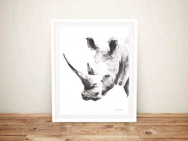 Rhino Grey - Aimee Del Valle Canvas Prints