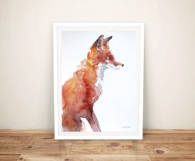 Sly As A Fox - Aimee Del Valle Canvas Art
