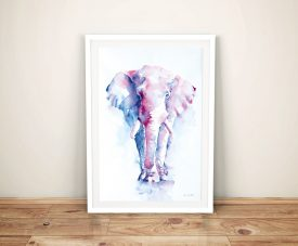An Elephant Never Forgets Cheap Wall Art
