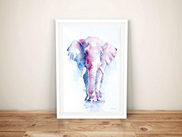 An Elephant Never Forgets Cheap Wall Art