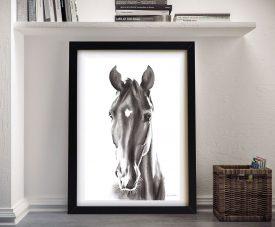 Le Cheval Noir Aimee Del Valle Framed Wall Art
