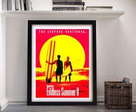 Endless Summer II Movie Poster Art