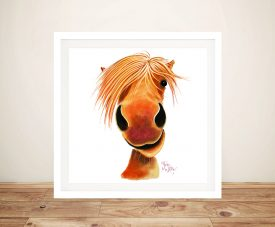 Ginger Nut Framed Canvas Art