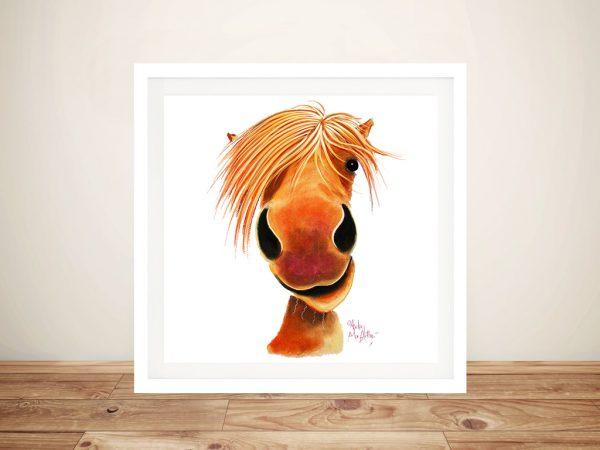 Ginger Nut Framed Canvas Art