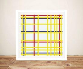 New York City Piet Mondrian Abstract Art