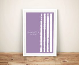 Party In The USA Soundwaves Wall Art