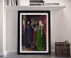Arnolfini Portrait Classic Art Prints