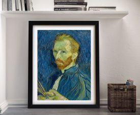 A Portrait By Van Gogh Framed Wall Art