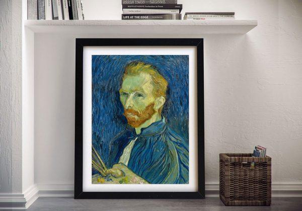 A Portrait By Van Gogh Framed Wall Art
