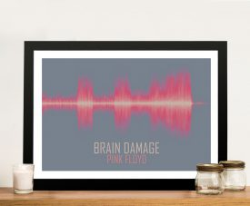 Pink Floyd Brain Damage Soundwave Artwork