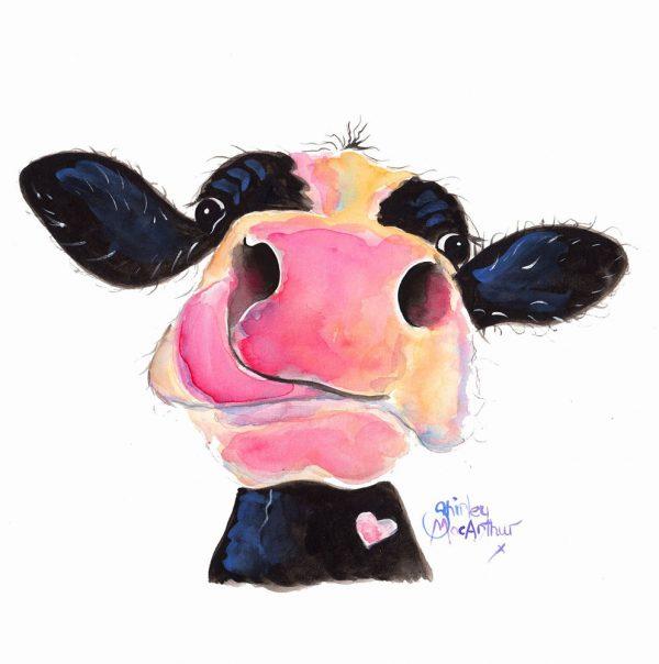 Jammie Jessie Jersey Cow Wall Art Great Gift Ideas