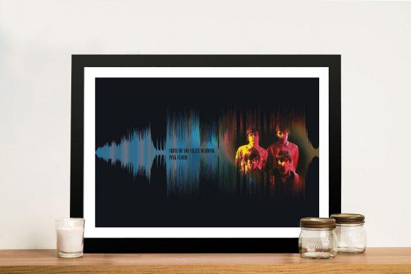 Shine On You Crazy Diamond Soundwave Art