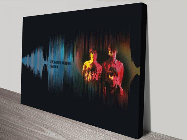 Buy Shine On You Crazy Diamond Soundwave Prints Online