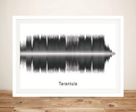 Tarantula by Pendulum Soundwave Art
