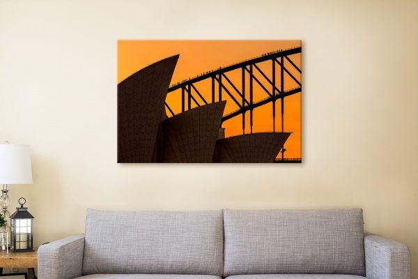 Buy A Climb Above The Sails Canvas Prints Australia
