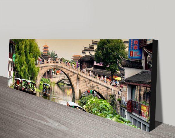 Buy Shanghai Water Town Panoramic Print