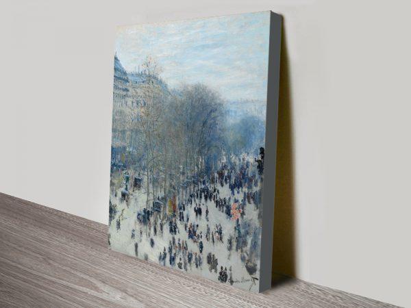 Buy Boulevard des Capucines Monet Art AU