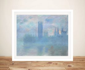 Houses of Parliament Wall Art by Monet