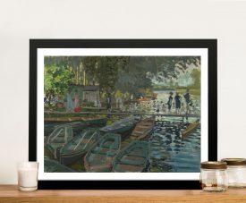 Bathers at La Grenouillère Classic Art