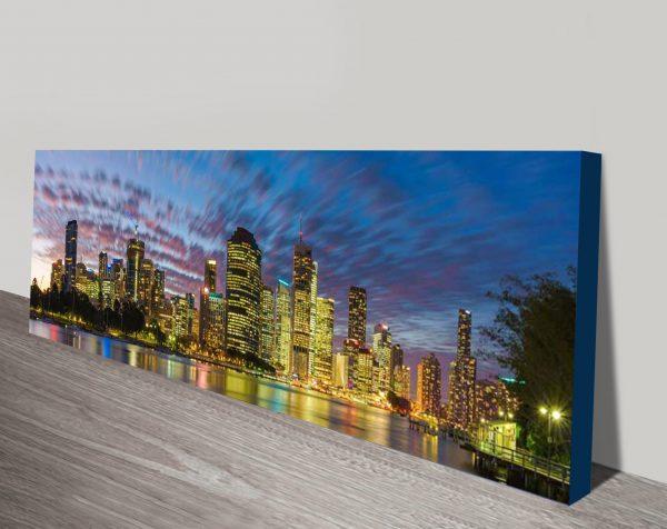 Sunset Motion Brisbane Cheap Canvas Art Australia