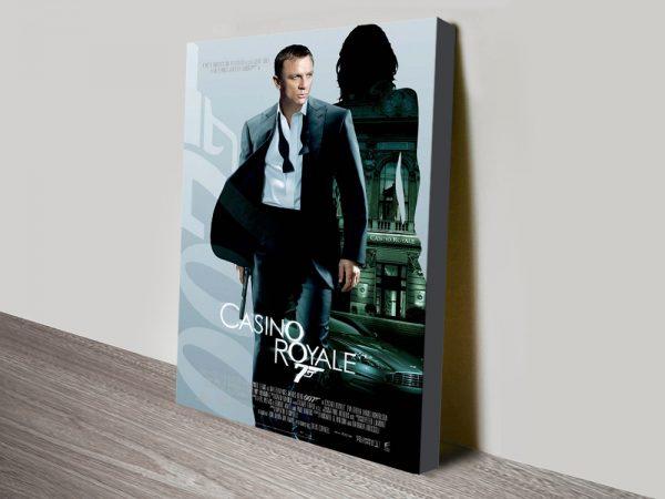 Buy James Bond Casino Royale Movie Artwork