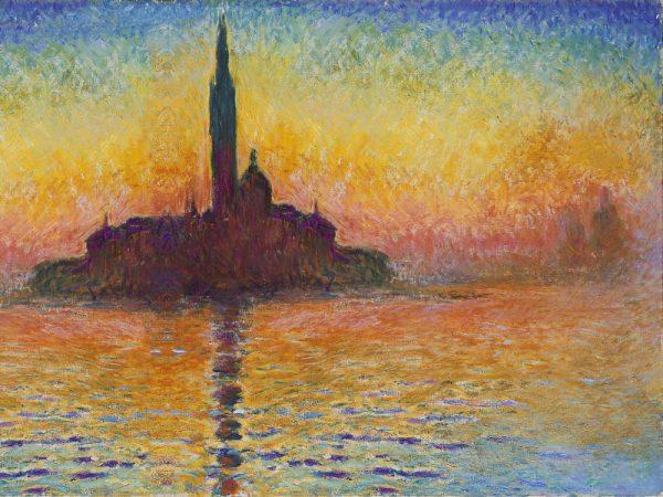 San Giorgio Maggiore At Dusk Monet Gift Ideas
