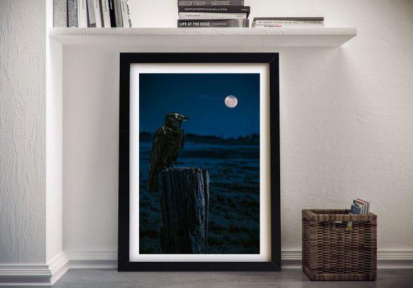 Buy Crowmoon Artwork By Noel Buttler