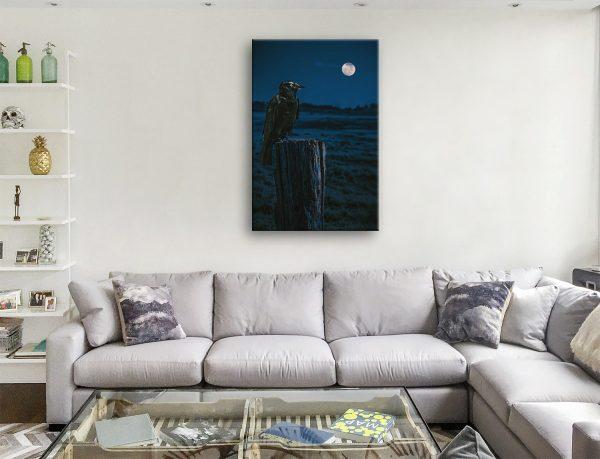 Crowmoon Noel Buttler Canvas Art Online