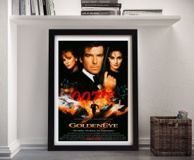Goldeneye James Bond Movie Wall Art