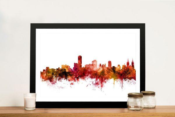 Michael Tompsett Adelaide Skyline Art