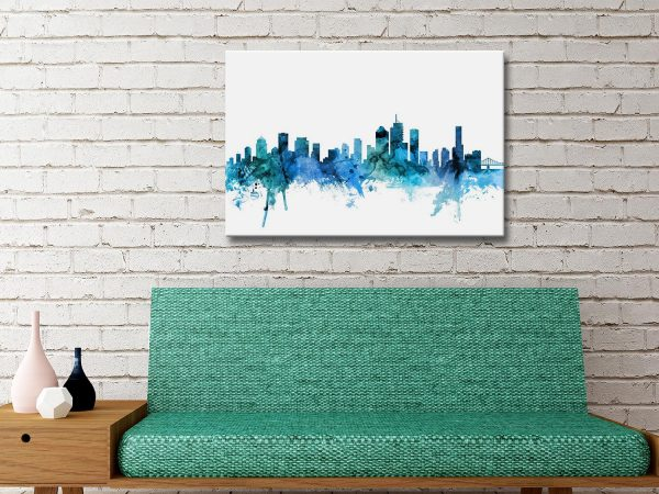 Buy Michael Tompsett Brisbane Prints AU