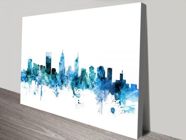Buy Perth Wall Art by Michael Tompsett Online