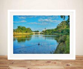 Canvas Print of Melbourne River