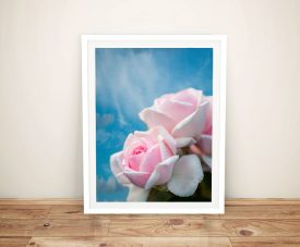 Pretty Rose Spring Delight Canvas Art