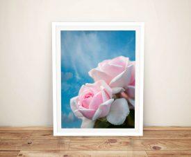 Pretty Rose Spring Delight Canvas Art