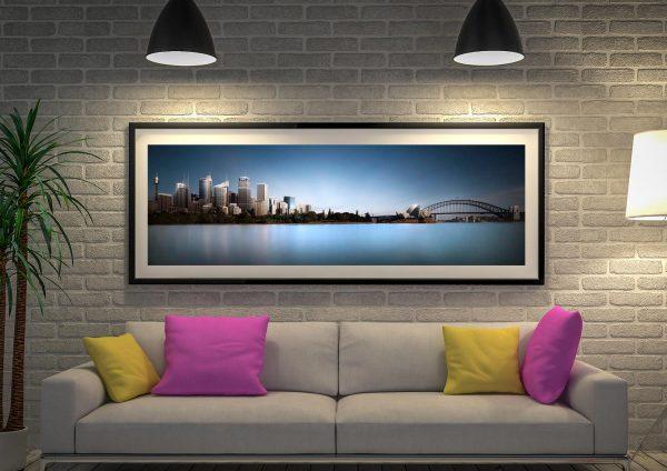 Macquarie Skyline Sydney framed wall art