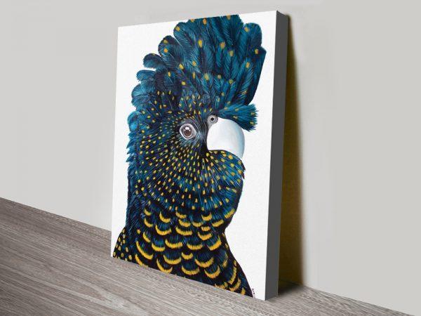 Buy Blue Cockatoo Artwork Unique Gifts AU