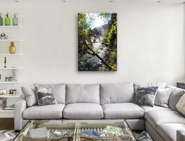 Cheap Waterfalls in the Jiuzhaigou ll Artwork AU