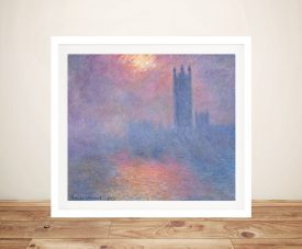 Buy Effect of Sunlight in Fog Classic Wall Art
