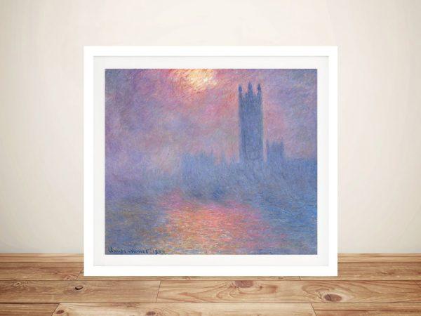 Buy Effect of Sunlight in Fog Classic Wall Art