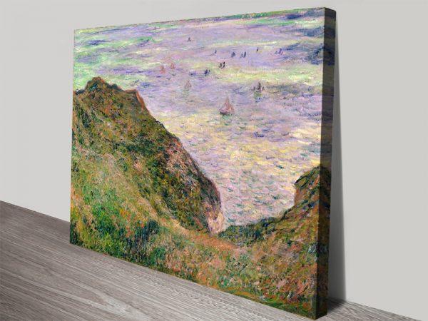 Low Tide at Varengeville Cheap Monet Wall Art