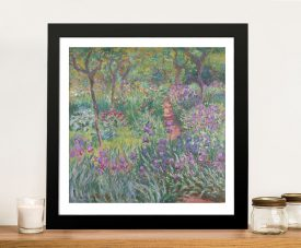 Buy The Iris Garden at Giverny Monet Artwork