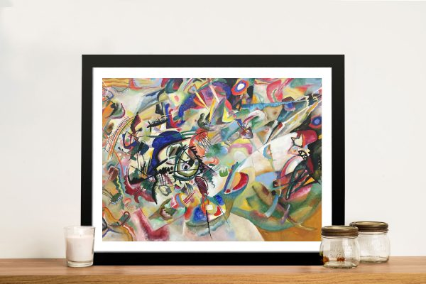 Composition VII Abstract Wall Art by Kandinsky