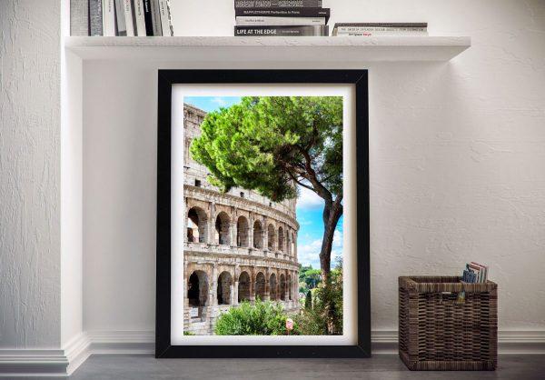 The Colosseum Philippe Hugonnard Framed Art